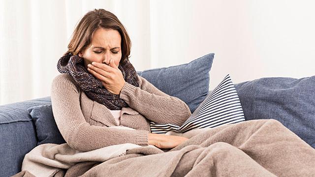 Приступообразный кашель