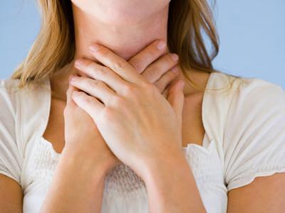 Боли в гортани