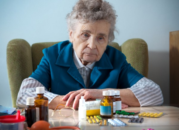 Пациентка преклонного возраста