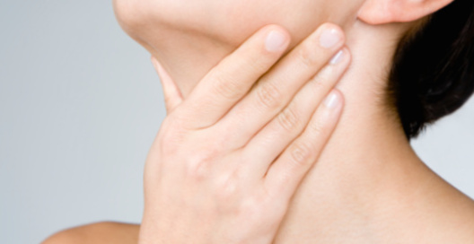 Дискомфорт при стенозе гортани