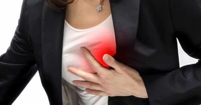 Тяжесть в грудной клетке