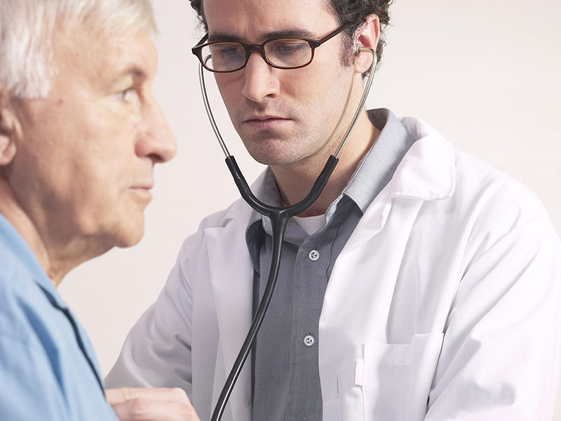 Прослушивание грудной клетки