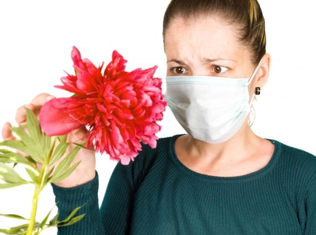 Аллергическая реакция на цветочную пыльцу