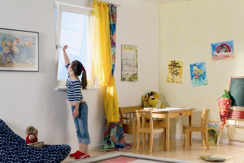 Проветривание комнаты при ангине