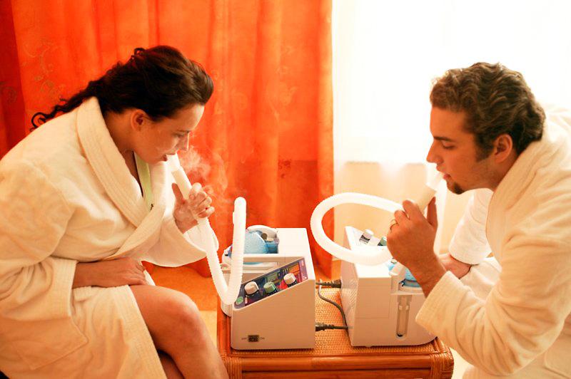 Лечение с применением небулайзера