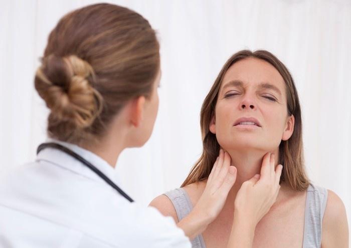 Обследование миндалин