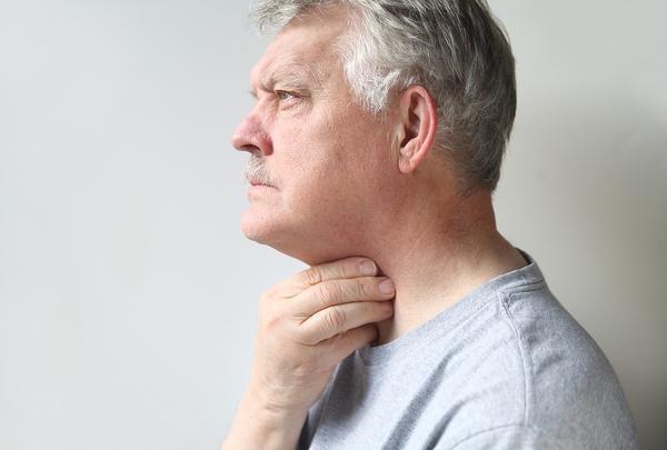 Саднящая боль в горле