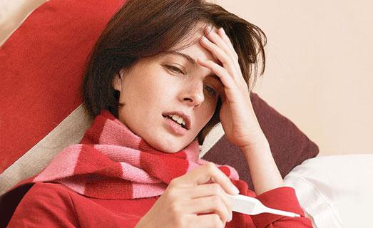 Повышение температуры при обострении болезни