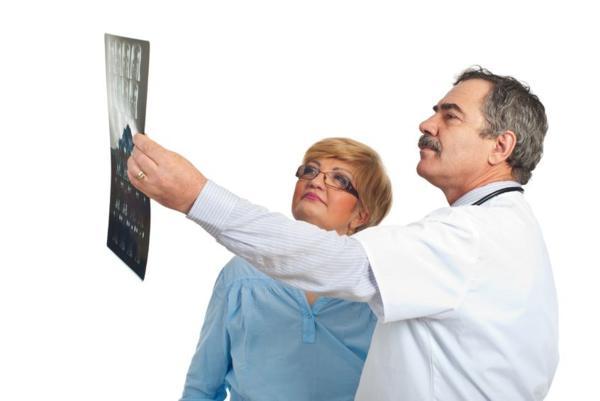 Изучение рентгеновских снимков на предмет выявления пылевого бронхита