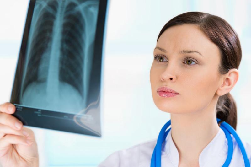 Изучение рентгенологического снимка