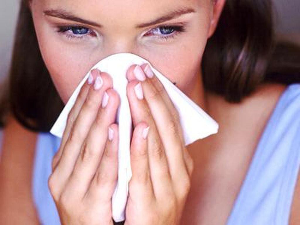 Заложенность носа - основной признак гайморита