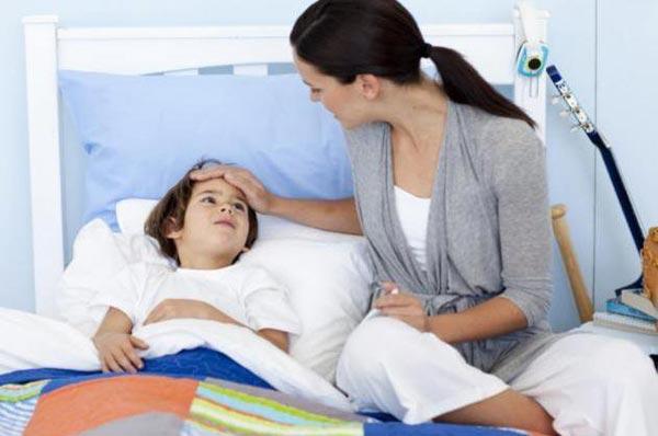 Пациент с момнонуклеозом