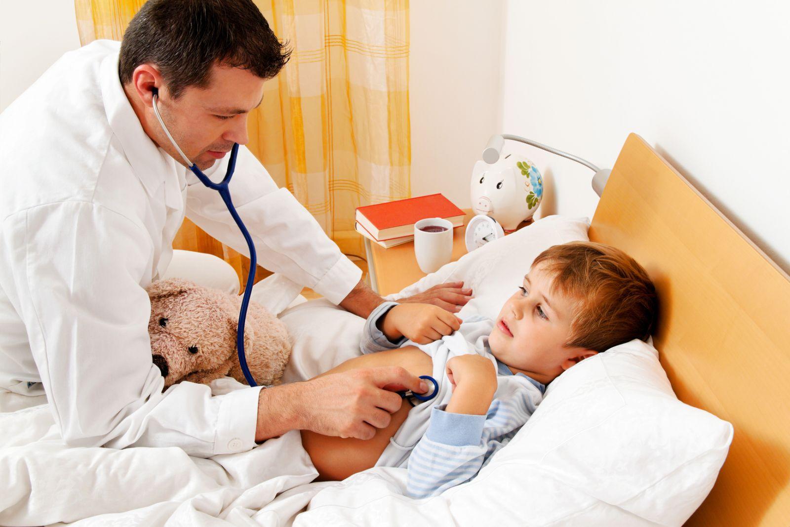 Лечение фарингита у грудничков