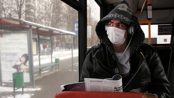 Защитная маска в общественных местах
