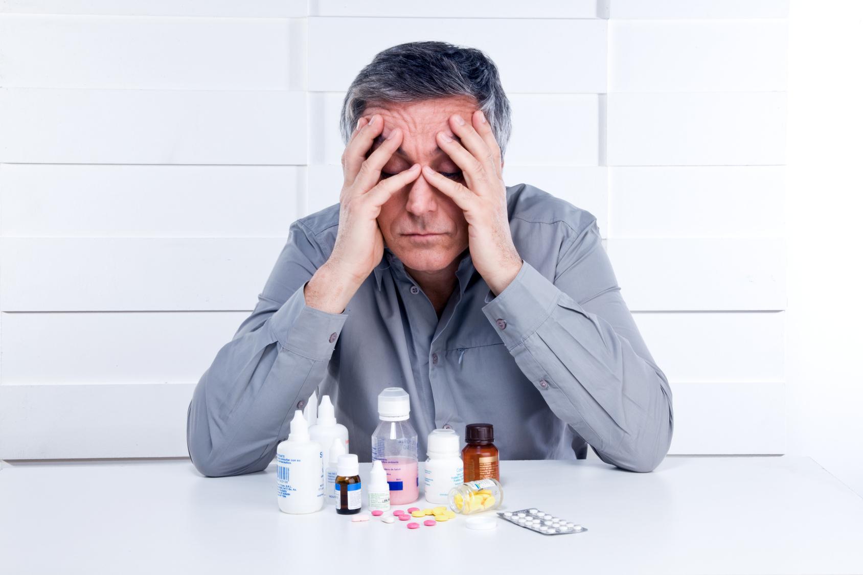 Интенсивная головная боль фото