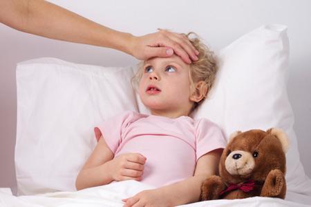 Высокая температура у ребенка при остром тонзиллите