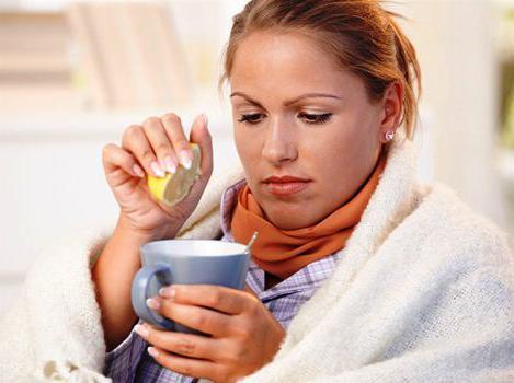Чай с лимоном в лечении недуга