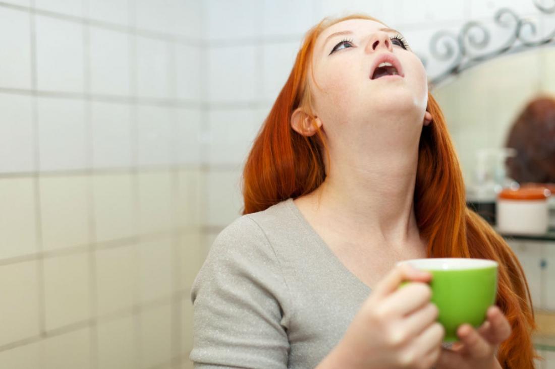 Полоскание горла антисептиками