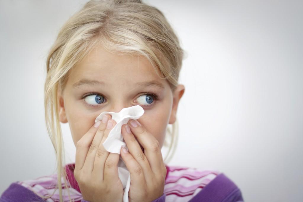Одним из признаков гайморита является заложенность носа
