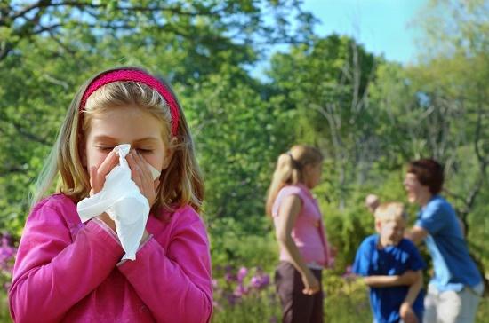 Аллергическая реакция у ребенка