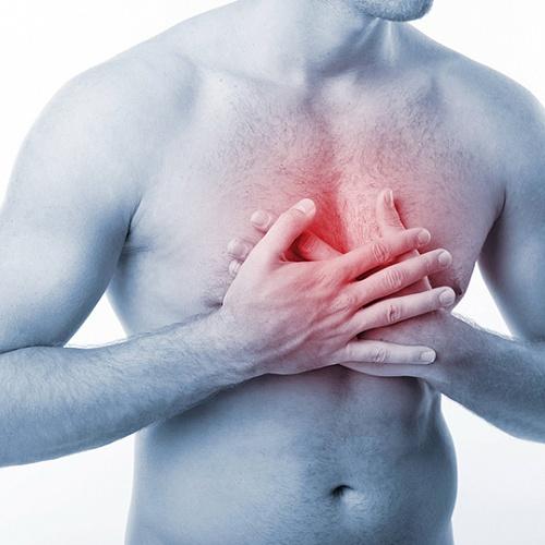 Колющая боль в грудной клетке при бронхите фото