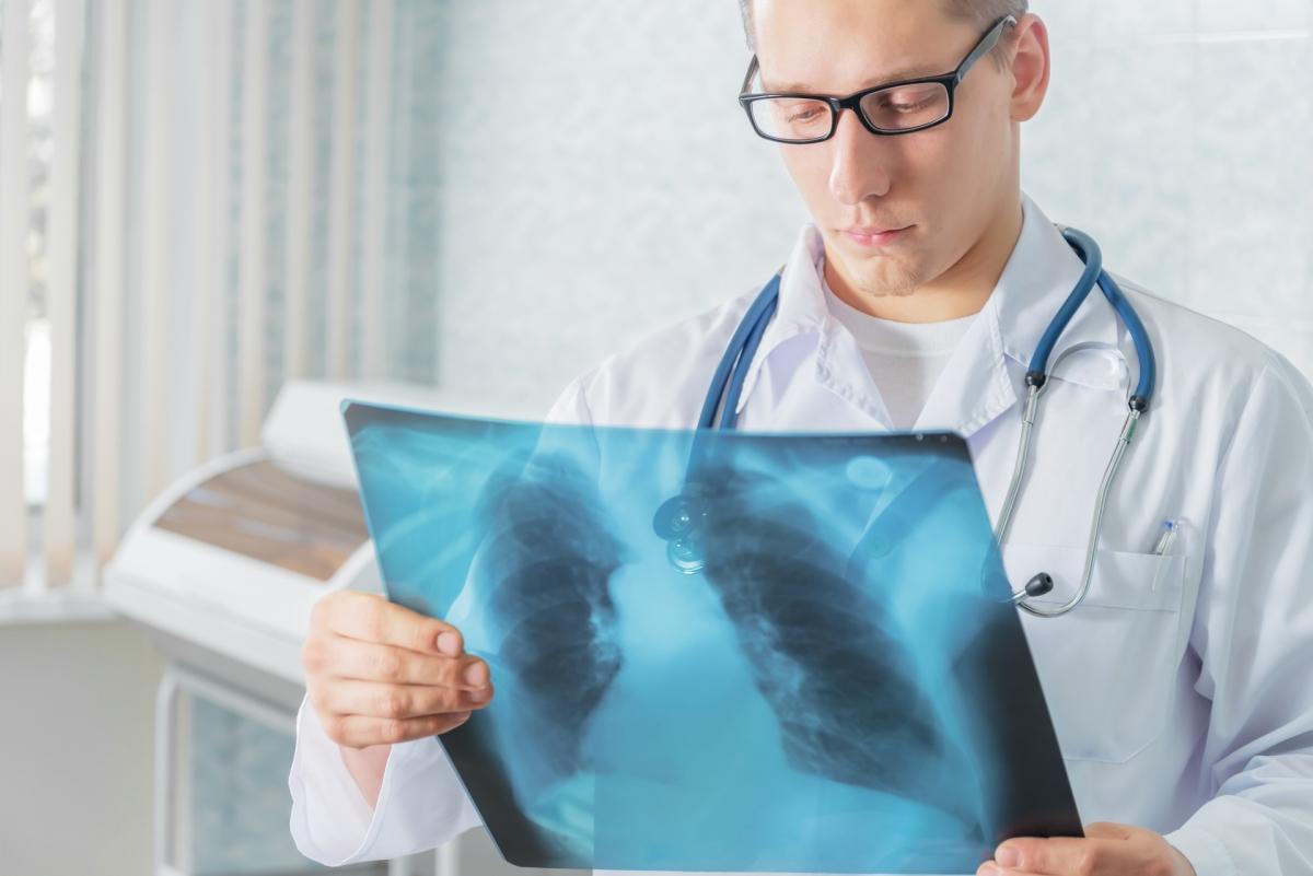 Диагностирование обструктивного бронхита по рентгеновскому снимку
