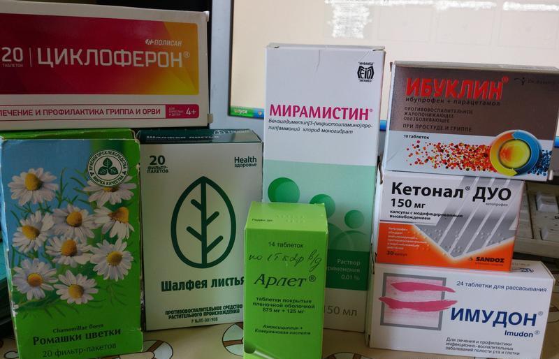 средства от ангины для взрослых лекарства фото